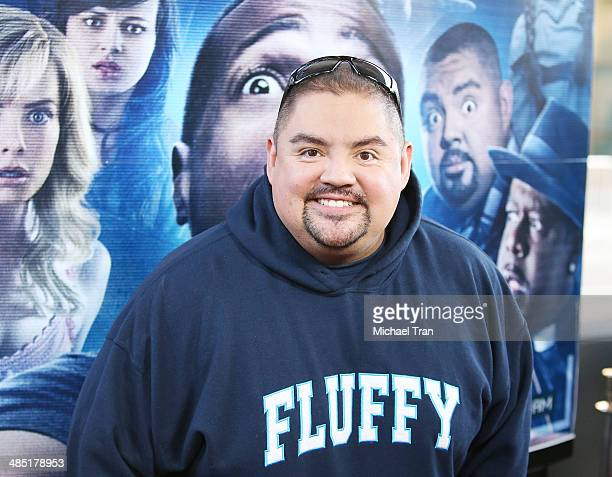 Gabriel Iglesias arrives at the Los Angeles premiere of 'A Haunted House 2' held at Regal Cinemas LA Live on April 16 2014 in Los Angeles California