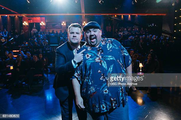 Gabriel Iglesias performs during 'The Late Late Show with James Corden' Tuesday January 10 2017 On The CBS Television Network