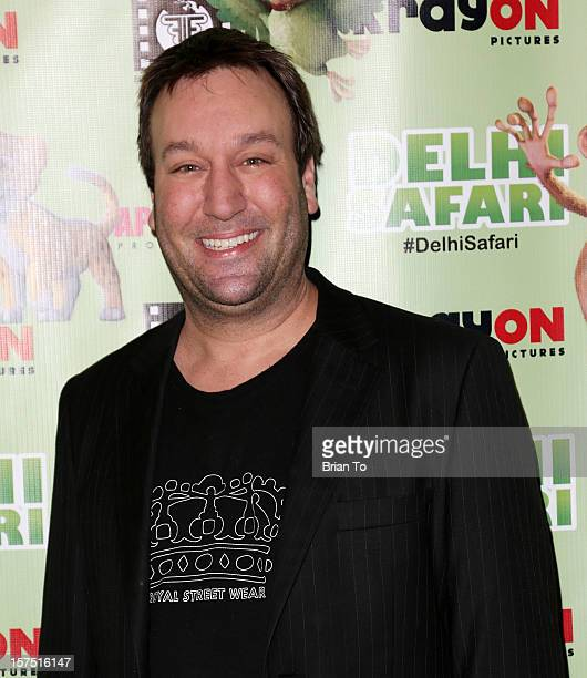 Gabriel Jarret attends 'Delhi Safari' Los Angeles premiere at Pacific Theatre at The Grove on December 3 2012 in Los Angeles California