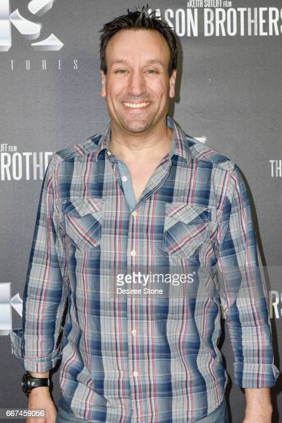 """Gabriel Jarret attends the premiere of """"The Mason Brothers"""" at the Egyptian Theatre on April 11, 2017 in Hollywood, California."""