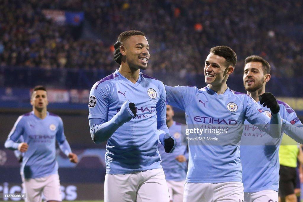 Dinamo Zagreb v Manchester City: Group C - UEFA Champions League : News Photo