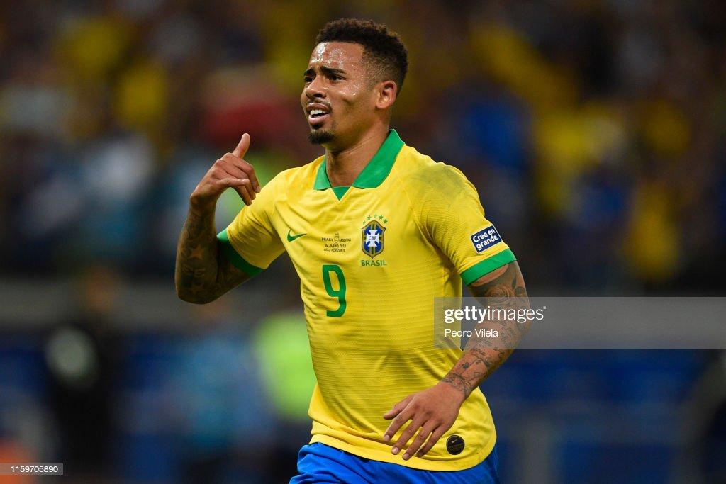 Brazil v Argentina: Semi Final - Copa America Brazil 2019 : ニュース写真