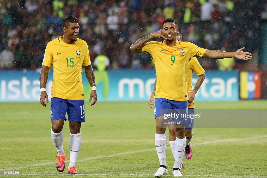 Venezuela v Brazil - FIFA 2018 World Cup Qualifiers : News Photo