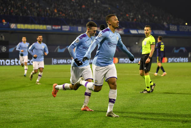 HRV: Dinamo Zagreb v Manchester City: Group C - UEFA Champions League