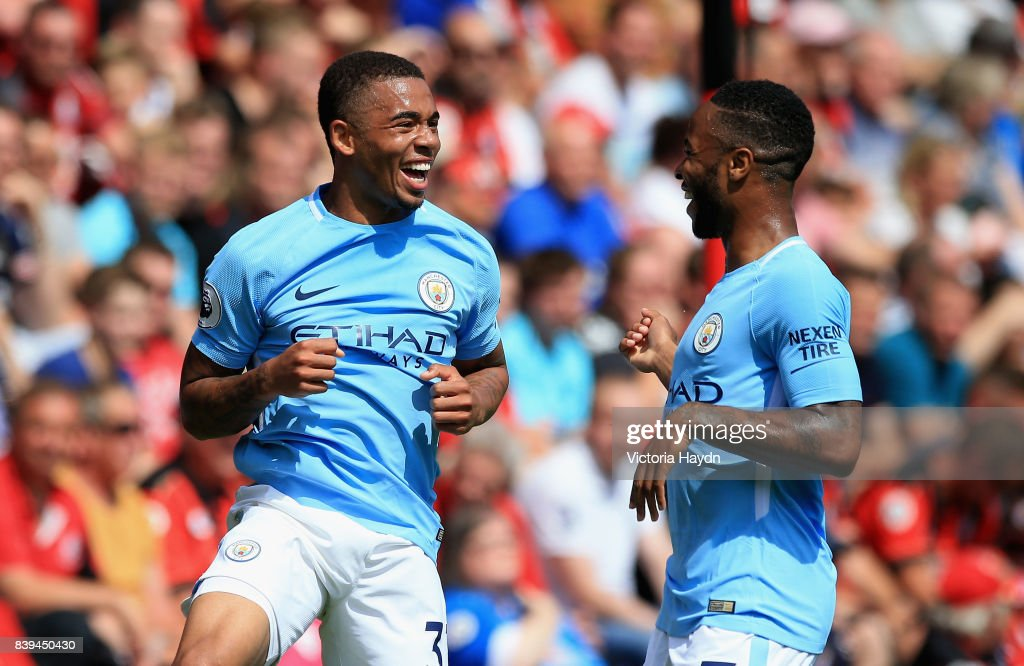 AFC Bournemouth v Manchester City - Premier League : Nachrichtenfoto