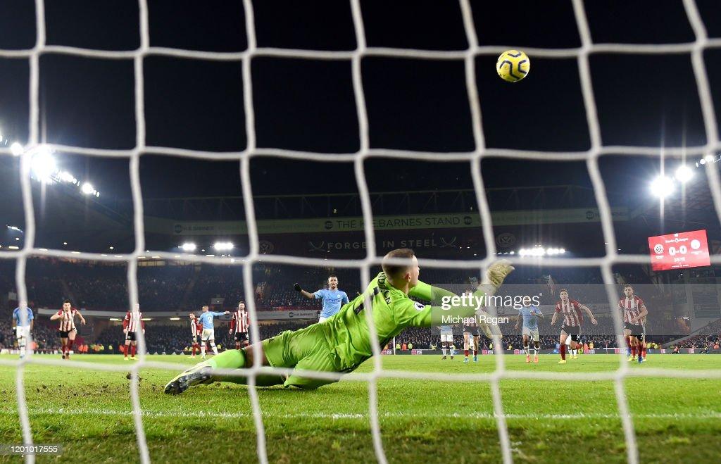 Sheffield United v Manchester City - Premier League : ニュース写真