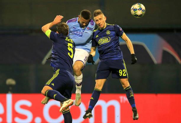 HRV: Dinamo Zagreb v Manchester City: Group C - UEFA Champions League