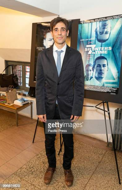 Gabriel JudetWeinshel attends 7 Splinters in Time New York premiere at The Anthology Film Archives