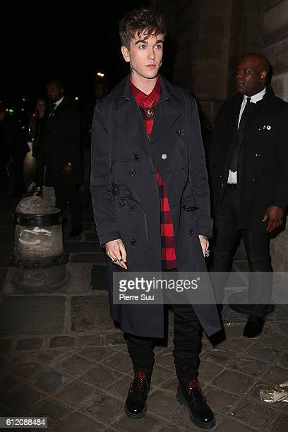 Gabriel Kane Day Lewis arrives at the Gold Obsession Party L'Oreal Paris as part of the Paris Fashion Week Womenswear Spring/Summer 2017 on October 2...