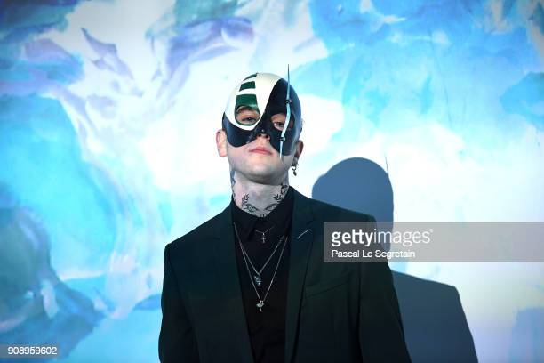 Gabriel Kane Day Lewis attends Le Bal Surrealiste Dior during Haute Couture Spring Summer 2018 show as part of Paris Fashion Week on January 22 2018...