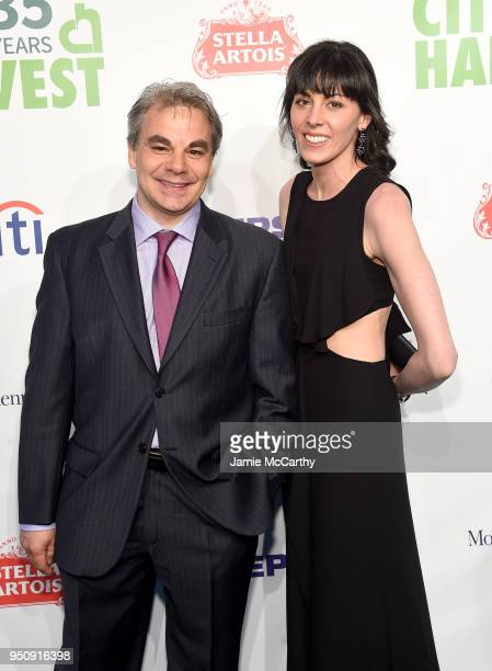 Gabriel Kreuther and Nancy Shulman attends City Harvest's 35th Anniversary Gala at Cipriani 42nd Street on April 24 2018 in New York City