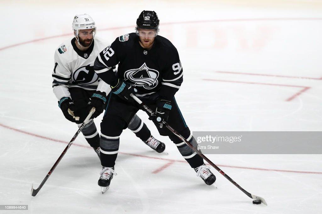 2019 Honda NHL All-Star Game - Metropolitan v Central : News Photo