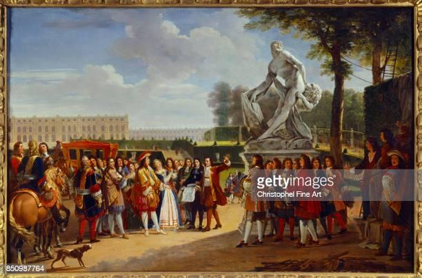 Gabriel Lemonnier Louis XIV of France inaugurating the Milon of Crotone by Pierre Puget Rouen musee des Beaux Arts