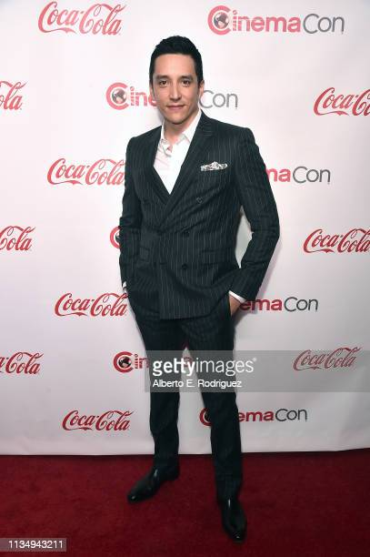 Gabriel Luna attends The CinemaCon Big Screen Achievement Awards Brought to you by The CocaCola Company at OMNIA Nightclub at Caesars Palace during...