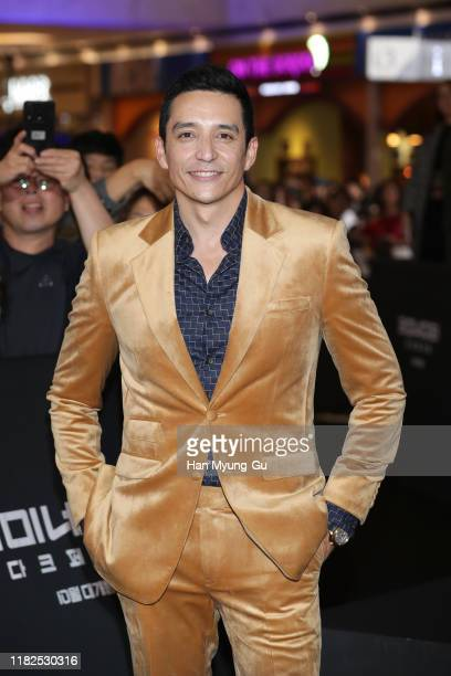 Gabriel Luna attends the Seoul premiere of 'Terminator Dark Fate' on October 21 2019 in Seoul South Korea The film will open on October 30 in South...