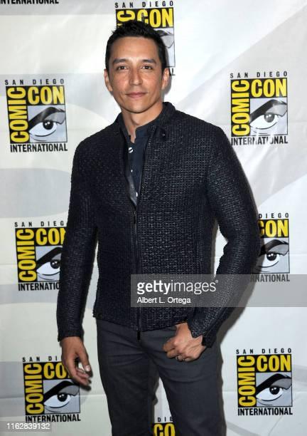 Gabriel Luna attends the Terminator Dark Fate panel during 2019 ComicCon International at San Diego Convention Center on July 18 2019 in San Diego...