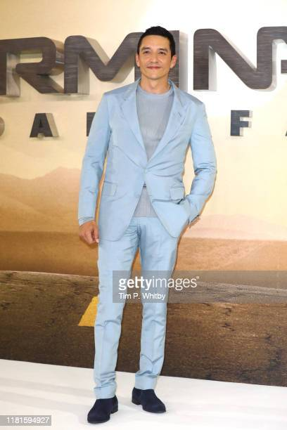 Gabriel Luna attends the Terminator Dark Fate photocall on October 17 2019 in London England