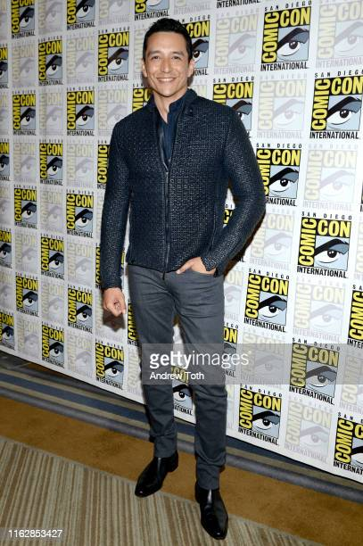 Gabriel Luna attends the Terminator Dark Fate Red Carpet at San Diego ComicCon 2019 on July 18 2019 in San Diego California