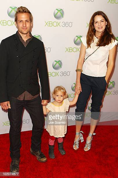 Gabriel Macht and Jacinda Barret arrive to the World Premiere Of Project Natal For Xbox 360 at Galen Center on June 13 2010 in Los Angeles California