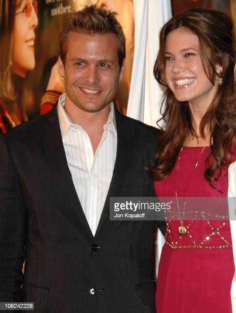 Gabriel Macht and Mandy Moore during Because I Said So Los Angeles Premiere Arrivals at The Arclight in Hollywood California United States