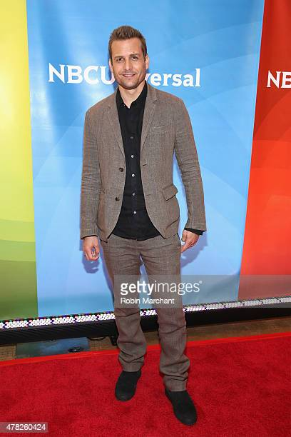 Gabriel Macht attends the NBC's 2015 New York Summer Press Day at Four Seasons Hotel New York on June 24 2015 in New York City