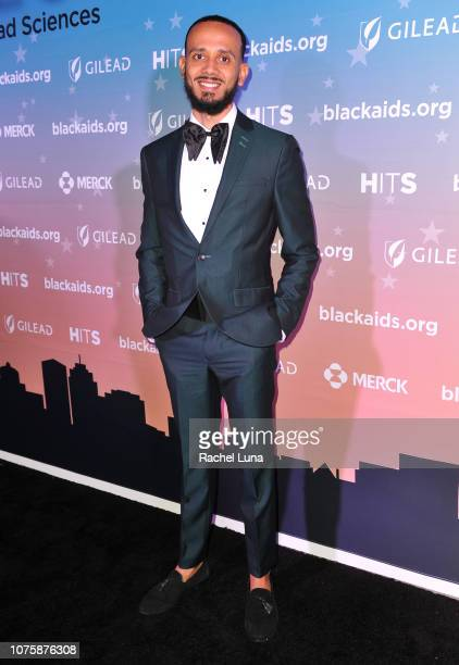 Gabriel Malonado attends the Black AIDS Institute's 2018 Heroes in The Struggle Gala at California African American Museum on December 01 2018 in Los...