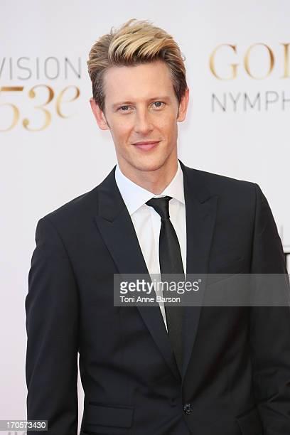 Gabriel Mann attends the closing ceremony of the 53rd Monte Carlo TV Festival on June 13 2013 in MonteCarlo Monaco