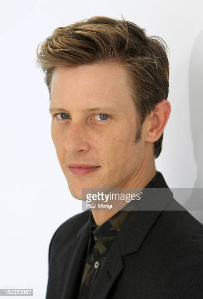 Gabriel Mann attends the Philosophy By Natalie Ratabesi show during Spring 2014 MercedesBenz Fashion Week at Location 05 Studios on September 11 2013...