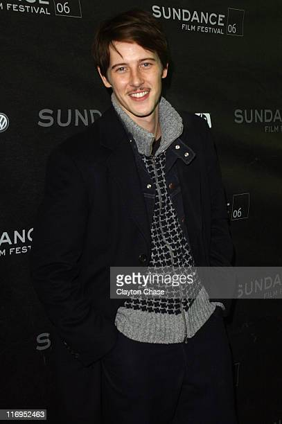 Gabriel Mann during 2006 Sundance Film Festival 'Don't Come Knocking' Premiere at 345 Main Street in Park City Utah United States