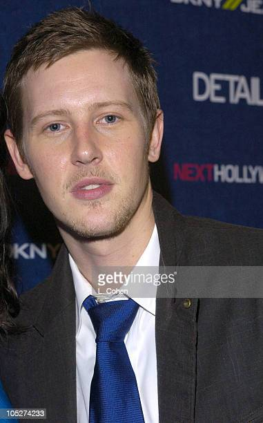Gabriel Mann during Details Magazine and DKNY Jeans Next Hollywood Party Arrivals at Chateau Marmont in West Hollywood California United States