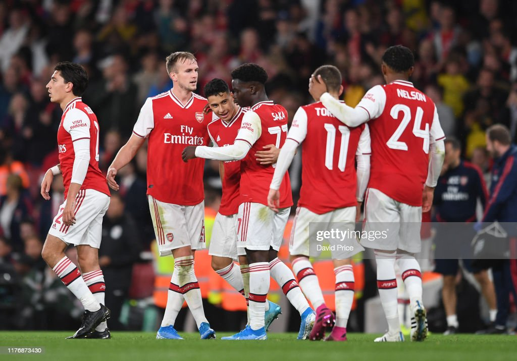 Arsenal FC v Nottingham Forrest  - Carabao Cup Third Round : News Photo