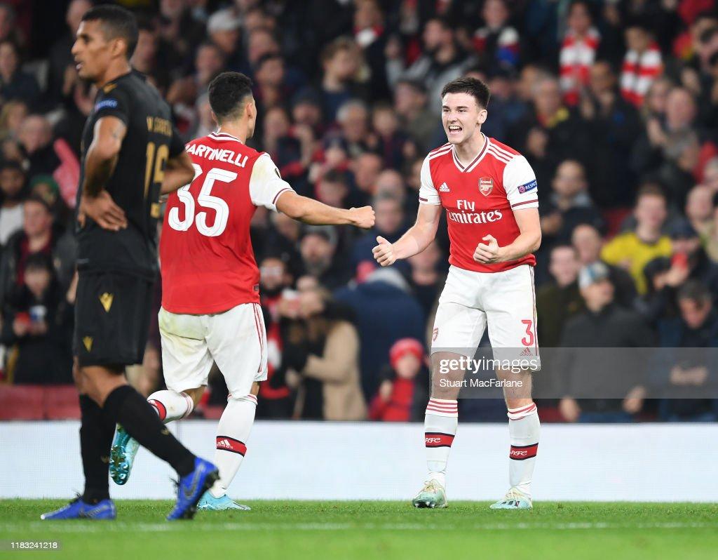 Arsenal FC v Vitoria Guimaraes: Group F - UEFA Europa League : News Photo