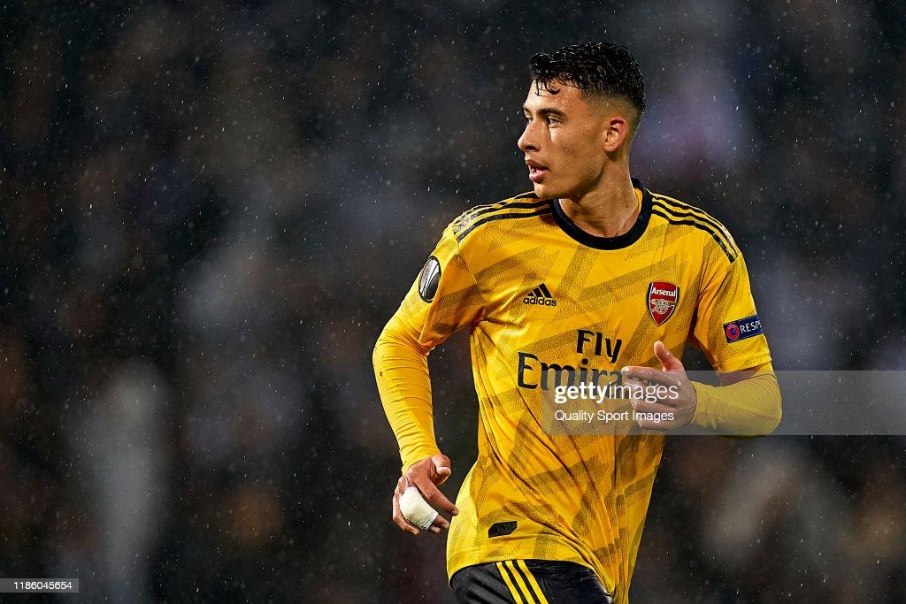Vitoria Guimaraes v Arsenal FC: Group F - UEFA Europa League : ニュース写真