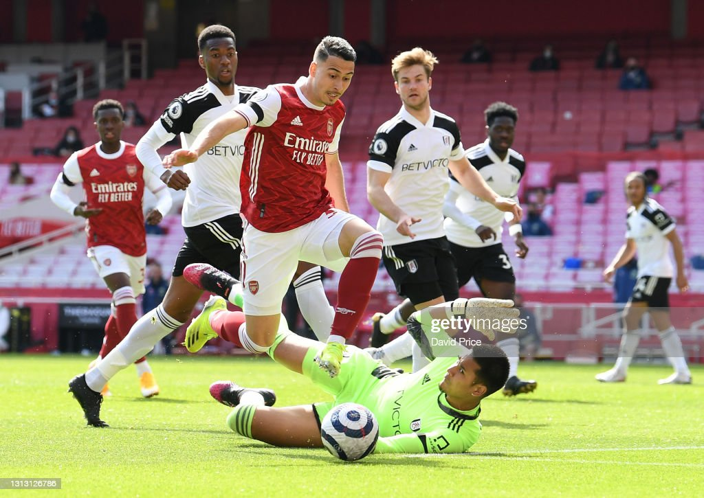 Arsenal v Fulham - Premier League : News Photo