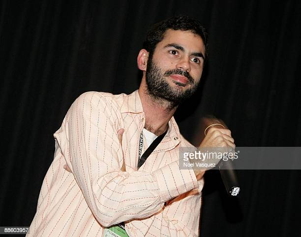"""Gabriel Mascaro attends the 2009 Los Angeles Film Festival's screening of """"High Rise"""" at the Landmark Theater on June 20, 2009 in Los Angeles,..."""