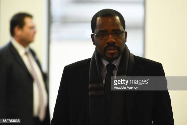 Gabriel Mbaga Obiang Lima Equatorial Guinea's minister of mines industry and energy attends the 173rd Ordinary Meeting of the Organisation of...
