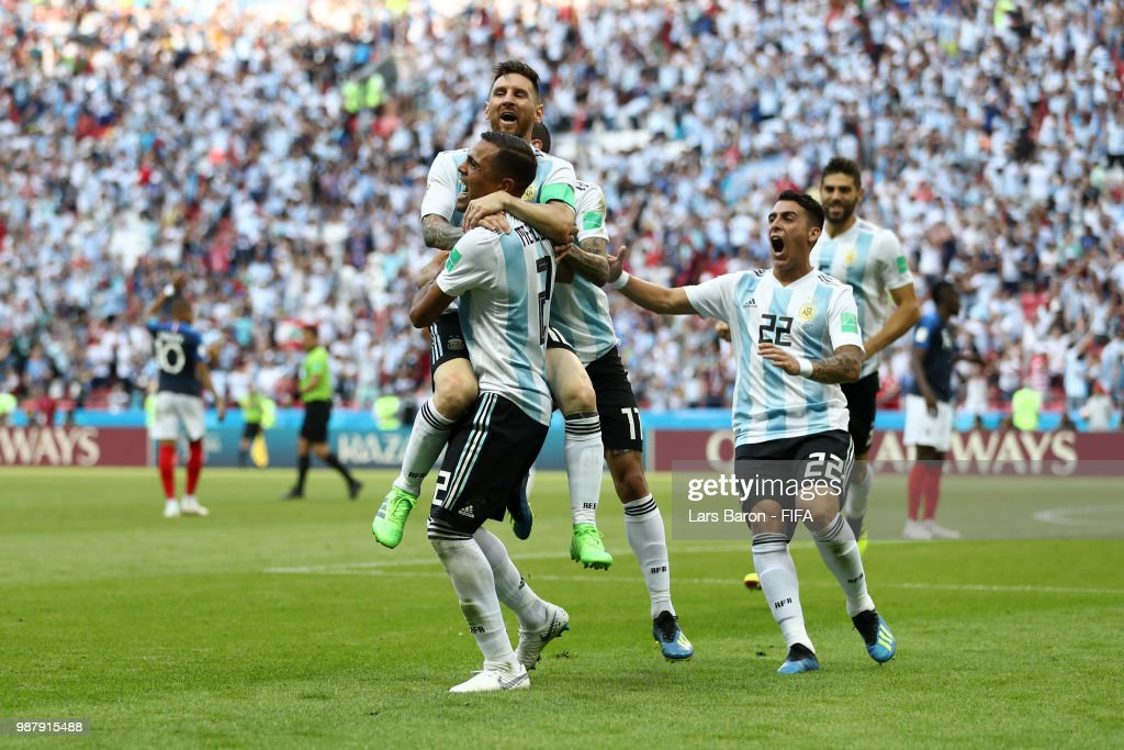 France v Argentina: Round of 16 - 2018 FIFA World Cup Russia : News Photo