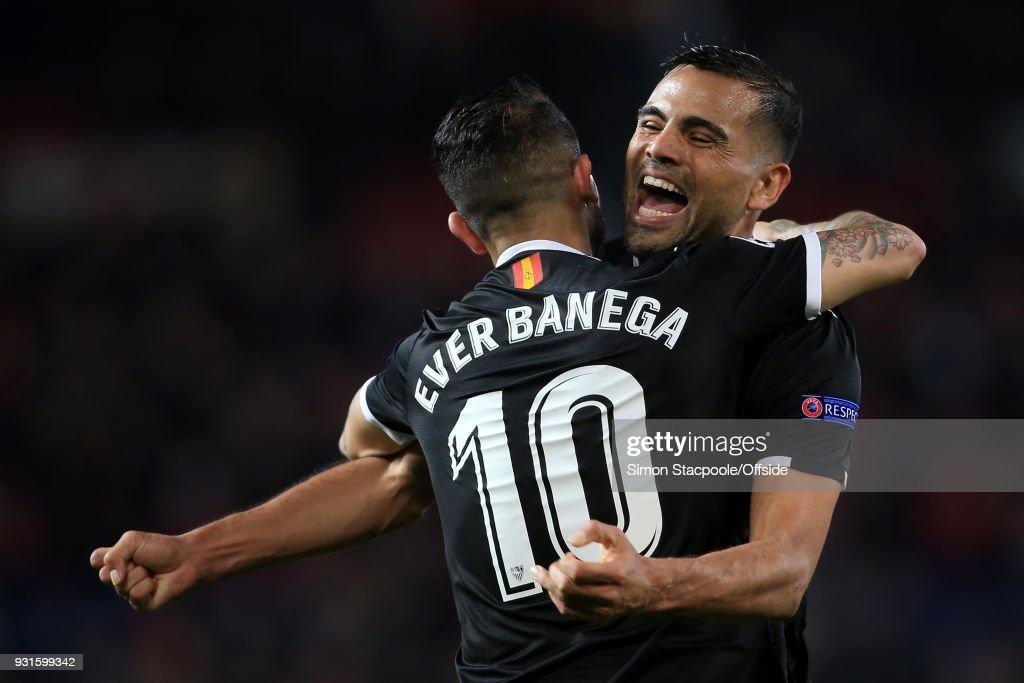 Manchester United v Sevilla FC  - UEFA Champions League Round of 16: Second Leg : News Photo