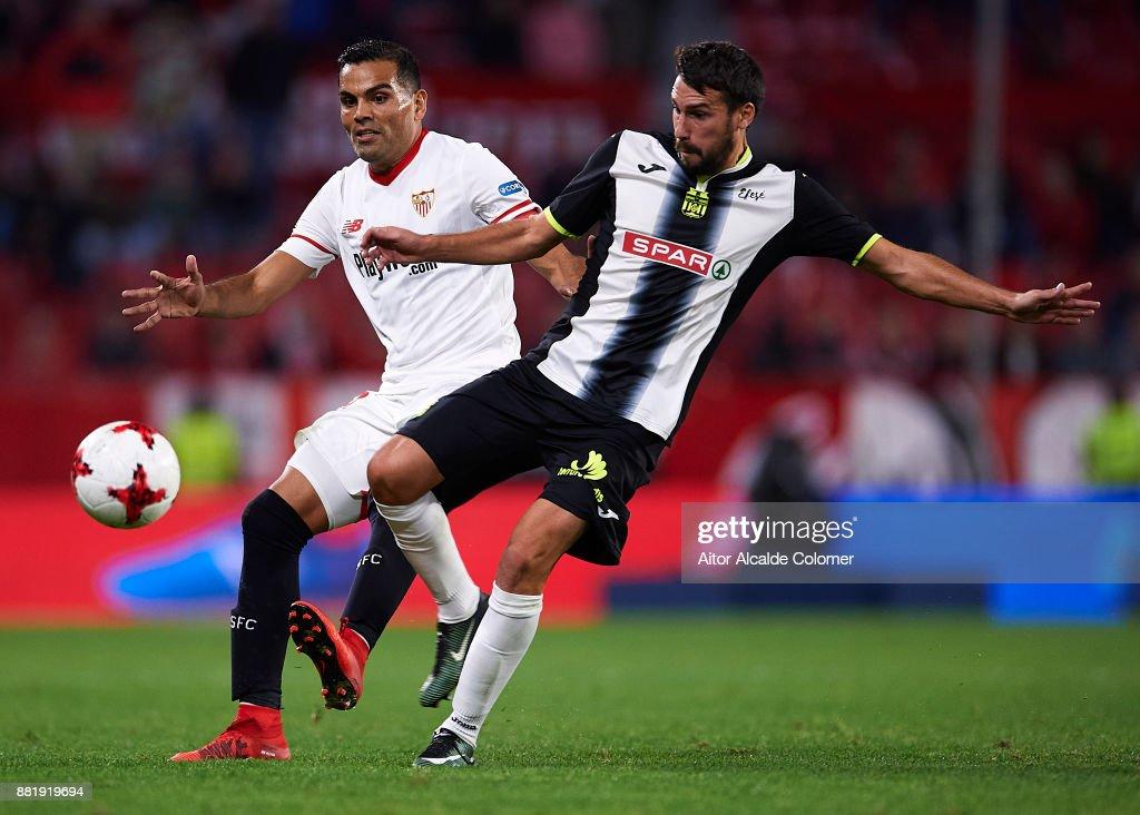 Sevilla vs Cartagena - Copa Del Rey : ニュース写真