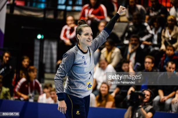 Gabriel Moreschi of Brazil during the handball women's international friendly match between France and Brazil on October 1 2017 in TremblayenFrance...