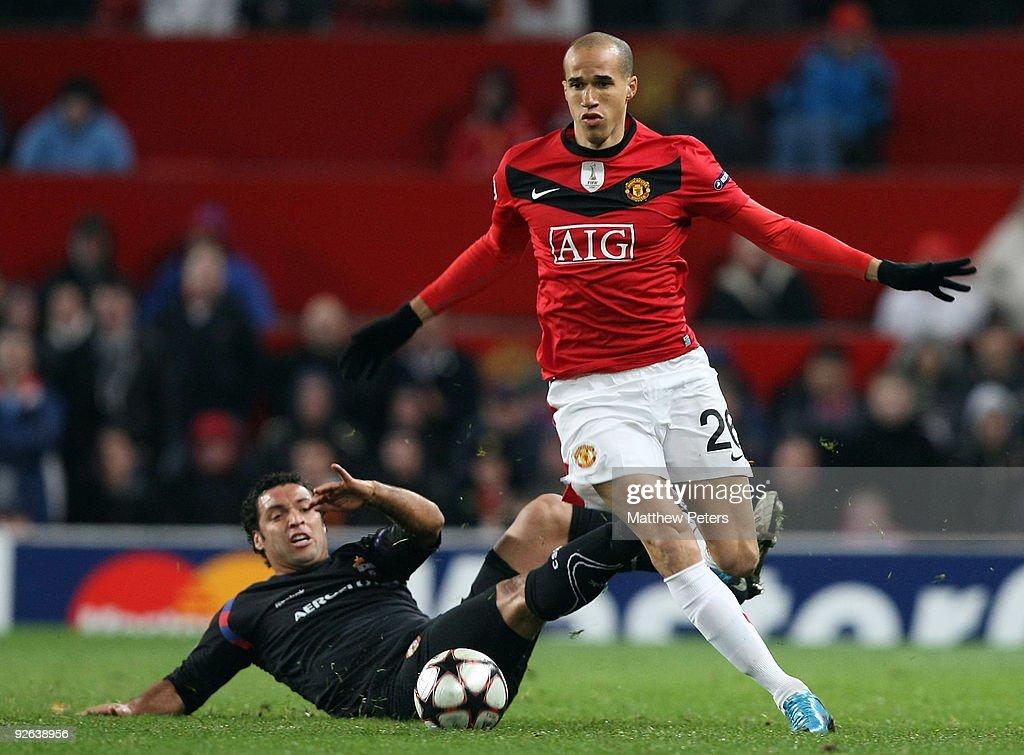 Manchester United v CSKA Moscow - UEFA Champions League