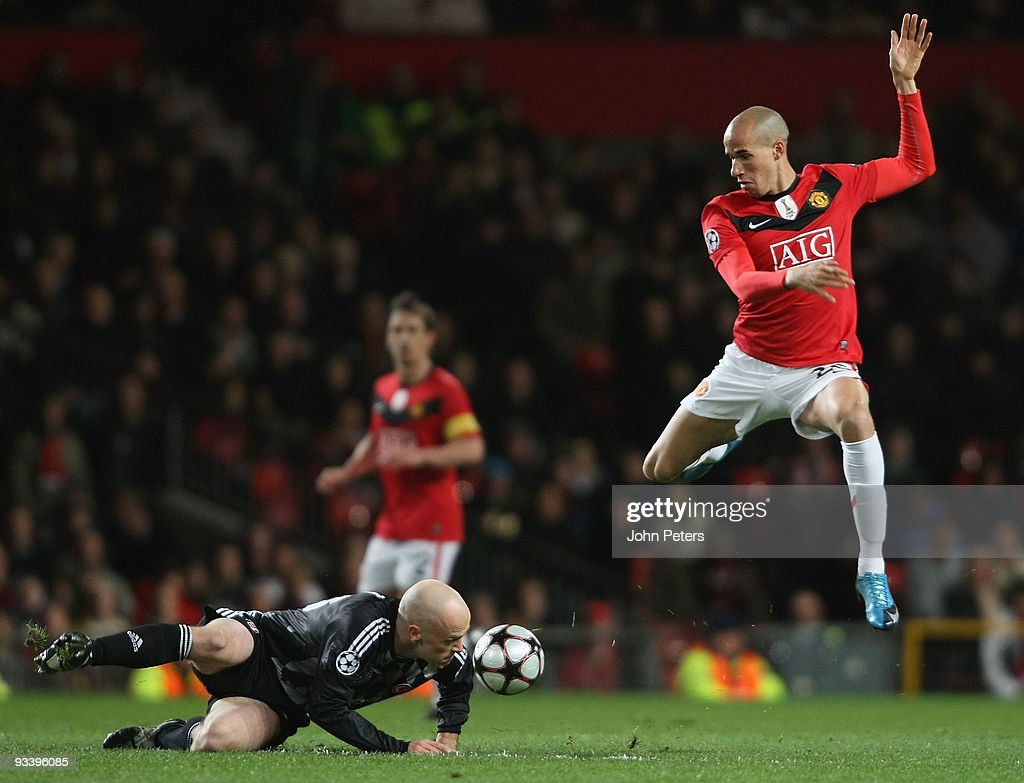 Manchester United v Besiktas : News Photo