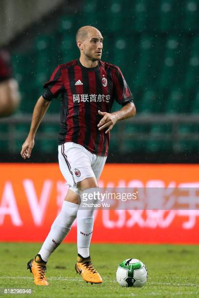 Gabriel Paletta of AC Milan at University Town during the 2017 International Champions Cup football match between AC milan and Borussia Dortmund...
