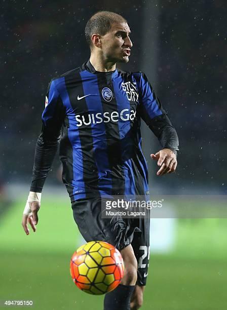Gabriel Paletta of Atalanta during the Serie A match between Atalanta BC and SS Lazio at Stadio Atleti Azzurri d'Italia on October 28, 2015 in...