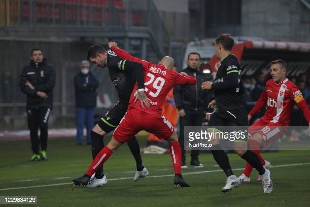Gabriel Paletta of Monza Calcio during the Match between Monza and Reggina for Serie B at U-Power Stadium in Monza, Italy, on november 289 2020