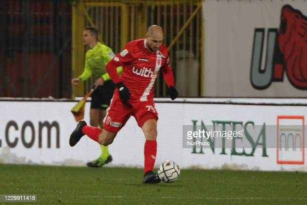Gabriel Paletta of Monza during the Match between Monza and Vicenza for Serie B at U-Power Stadium in Monza, Italy, on december 02 2020