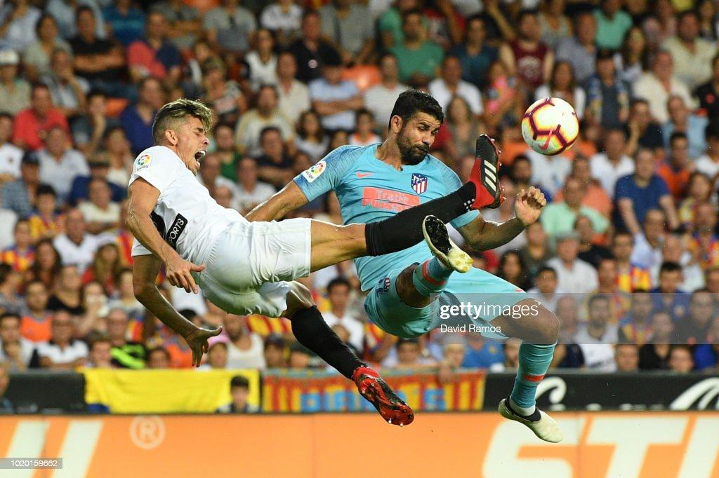 Valencia 1-1 Atl.Madrid: 1 điểm hợp lý