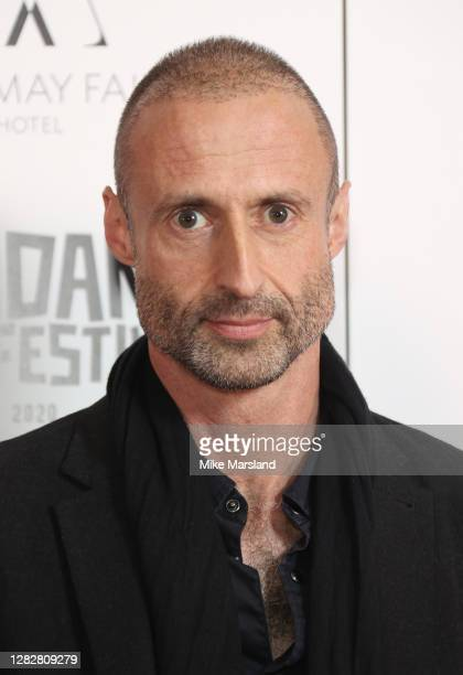 """Gabriel Range attends the """"Stardust"""" Opening Film & UK Premiere during the 28th Raindance Film Festival at The May Fair Hotel on October 28, 2020 in..."""