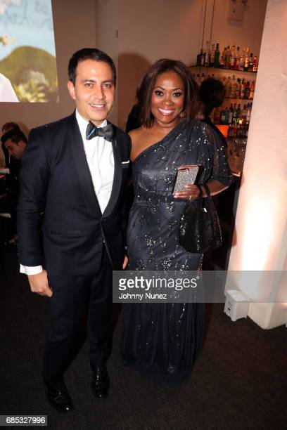 Gabriel RiveraBarraza and Angela Kissane attend the Glasswing International 10th Anniversary Gala at Tribeca Rooftop on May 18 2017 in New York City