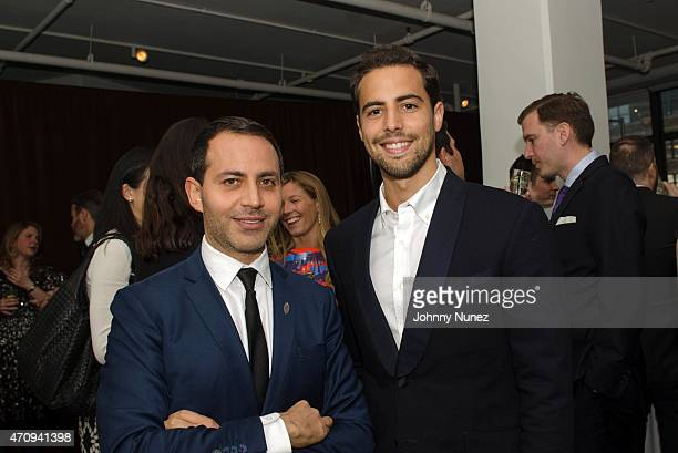 Gabriel RiveraBarraza and Luis Guillen attend the 2015 Glasswing International Benefit Gala at Tribeca Three Sixty on April 23 in New York City